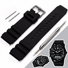 bracelet montre images Bracelet montre en silicone bande pour casio sports marine gear jpg