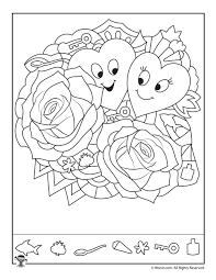 hearts and roses find the item puzzle woo jr kids activities