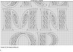 28 best alphabet images on pinterest celtic patterns plastic