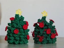 tiny tree ornaments allfreecrochet