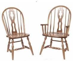 Kitchen Chairs With Arms by Amish Bowback Chairs