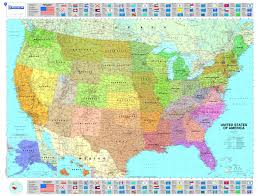 Usa Map Picture by Michelin Map Usa Political 14761 P Rolled Maps Wall Michelin