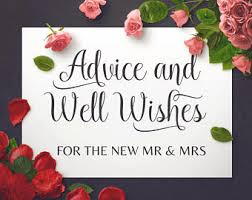 Wedding Wishes Designs Marriage Wishes Etsy