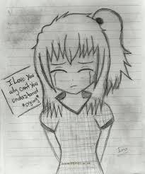 Emo Hairstyles Drawings by Drawn Emo Broken Heart Pencil And In Color Drawn Emo Broken Heart