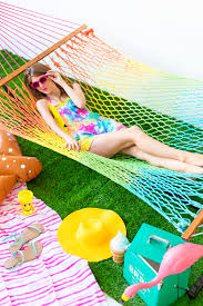 diy rainbow tie dye hammock studio diy