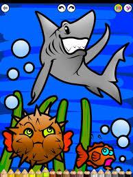 coloring board hd drawing kids water animals ipad