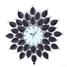 themed wall clock decorative fancy wall clocks homesfeed