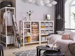 chambre rangement rangements chambre à coucher armoires penderies ikea