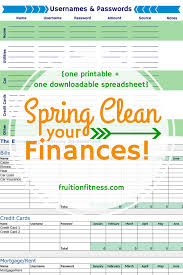 spring cleaning tips for your virtual life online finance