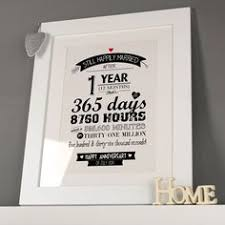 paper anniversary gift ideas for personalised 1st anniversary print happy paper 1st year