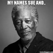 Names Of Memes - my names sue and meme morgan freeman 47318 memeshappen