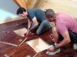 How To Remove Buildup On Laminate Floors How To Make Hideaway Storage Compartments In The Floor How Tos Diy