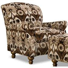 Brown Accent Chair Traditional Brown Black Accent Chair Prodigy Rc Willey
