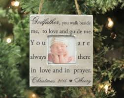 personalized baptism ornament godparent ornament etsy