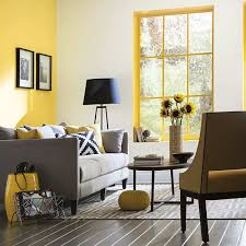 color of the month may 2016 buttercup yellow accent walls