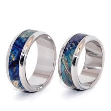 wood rings wedding minter richter titanium rings wooden wedding rings minter