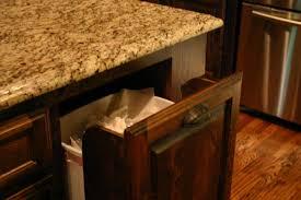 kitchen island with garbage bin kitchen wooden trash bin for kitchen white kitchen island