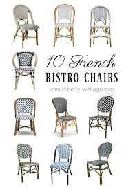 Folding Bistro Chairs 10 Bistro Chairs So Much Better With Age