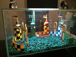 quidditch aquarium decoration build aquarium decorations