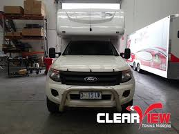towing with ford ranger ford clearview towing mirror ford ranger electric only adventure
