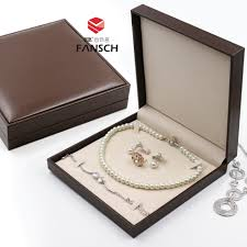 pearl necklace box images Usd 16 82 pearl necklace box high end set box necklace box jpg