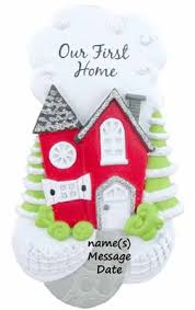 buy our new home ornament personalized ornament from a