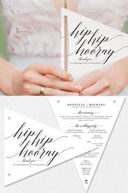Wedding Ceremony Programs Diy Best 25 Creative Wedding Programs Ideas On Pinterest Creative