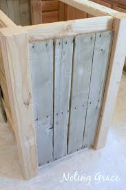 pallet kitchen island diy pallet kitchen island for less than 50 noting grace
