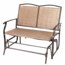 naturefun patio swing glider bench chair garden glider rocking