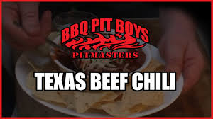 beef chili recipe by the bbq pit boys youtube