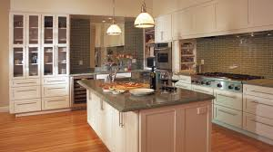 off white shaker cabinets in a contemporary kitchen omega