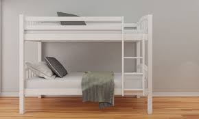 Bunk Bed Frames Solid Wood by Happy Beds American 3ft Solid Wooden Bunk Bed Frame Bedroom Home
