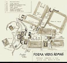 ancient roman villa floor plan roman forum drawing of the ancient site