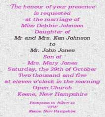 Invitation Wording Wedding Wedding Invitation Wording