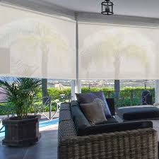 deluxe exterior solar shades 10 percent openness blindster com