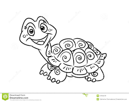 turtle fun coloring pages royalty free stock photos image 37934278