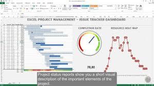 program management dashboard excel excel project management
