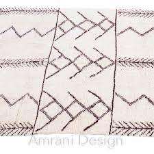 moroccan leather pouf living room designsbeni ourain wool rug