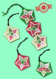 the papercraft post patchwork pentagon ornaments box and