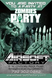 print invitations the airsoft factory