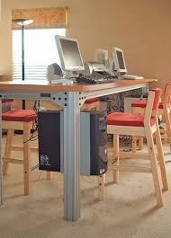 Desk 51 51 Best 8020 Images On Pinterest Organizing Desk Ideas And Workshop