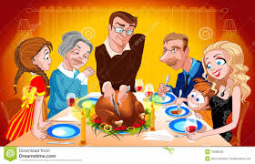 thanksgiving family dinner pictures family enjoying thanksgiving day turkey royalty free stock photo