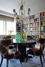 bookshelves in dining room built in bookcases dining room transitional with built in bookcase