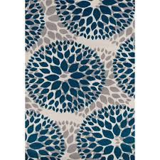 blue area rug 5 x 7 creative rugs decoration