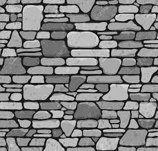 stone brick seamless grunge stone brick wall texture vector illustration