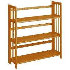 home decorators bookcase home decorators collection honey oak folding stacking open loft