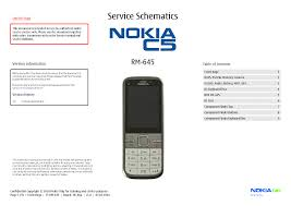 nokia 7020 rm 497 sch service manual free download schematics