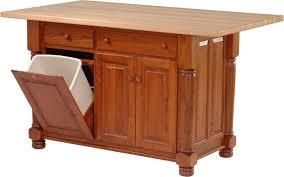 solid wood kitchen islands stylish kitchen island with trash storage best 25 flip top