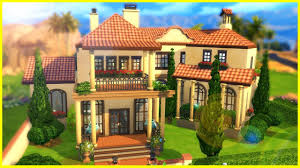 spanish for home fancy spanish home the sims 4 house building youtube