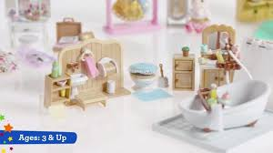 Calico Critters Play Table by Calico Critters Deluxe Living Room Set Toys